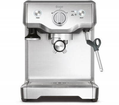Save £80 at Currys on SAGE by Heston Blumenthal Duo Temp Pro Bean to Cup Coffee Machine - Silver, Silver