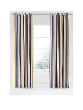 Save £30 at Very on Scion Lintu 100% Cotton Panama Lined Eyelet Curtains  168 X 229 Cm