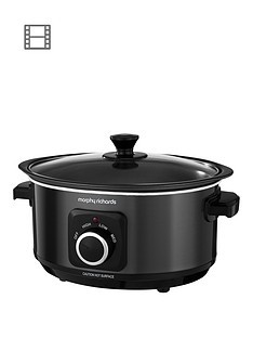 Save £4 at Very on Morphy Richards Evoke 3.5-Litre Manual Slow Cooker - Black