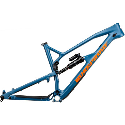 Save £800 at Chain Reaction Cycles on Nukeproof Mega 275 Carbon Mountain Bike Frame 2020 - Bottle Blue - ML, Bottle Blue
