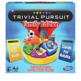 Save £6 at Argos on Trivial Pursuit Family Edition Board Game from Hasbro Gaming