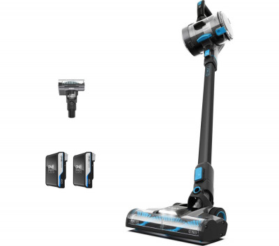 Save £80 at Currys on VAX ONEPWR Blade 4 Pet CLSV-B4DP Cordless Vacuum Cleaner – Graphite & Blue, Graphite