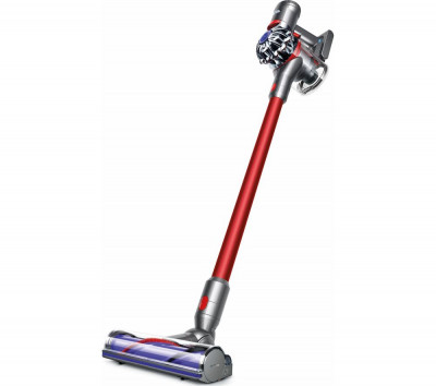 Save £120 at Currys on DYSON V7 Total Clean Cordless Vacuum Cleaner - Red, Red