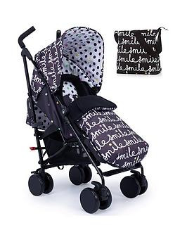 Save £80 at Very on Cosatto Supa 2 Stroller, Change Bag And Footmuff Bundle - All Smiles