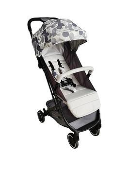 Save £9 at Very on My Babiie Am To Pm Christina Milian Mbx1 Grey Camo Compact Stroller
