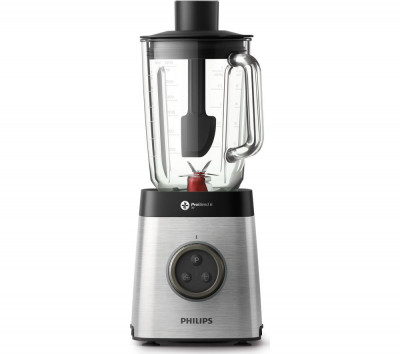 Save £135 at Currys on PHILIPS Avance Collection HR3652/01 Blender - Black & Silver, Black