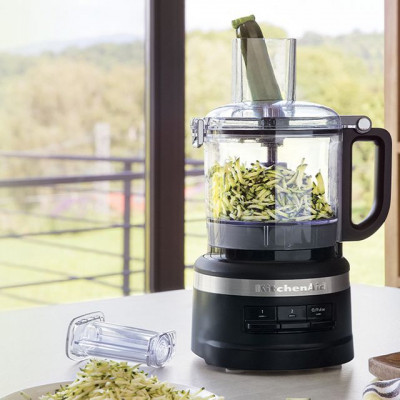Save £24 at AO on KitchenAid 5KFP0719BBM 1.7 Litre Food Processor With 4 Accessories - Matte Black