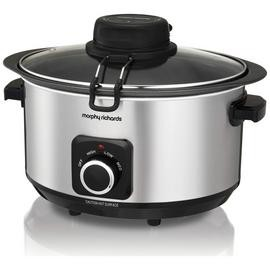 Save £10 at Argos on Morphy Richards 6.5L Auto-Stir Slow Cooker - Stainless Steel