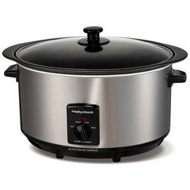 Save £13 at Argos on Morphy Richards 6.5L Sear & Stew Slow Cooker - St Steel