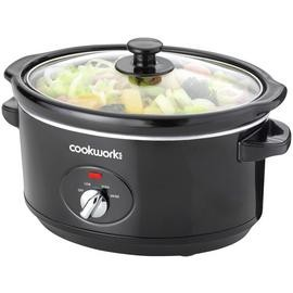 Save £5 at Argos on Cookworks 3.5L Slow Cooker - Black