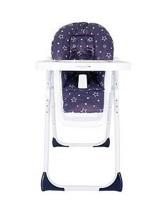 Save £20 at Very on My Babiie My Babiie Abbey Clancy Catwalk MBHC8ACNS Navy Stars Highchair