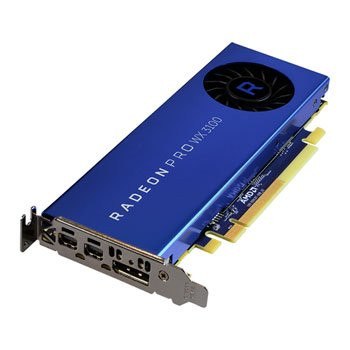 Save £25 at Scan on AMD Radeon Pro WX 3100 4GB Low Profile Workstation Graphics Card
