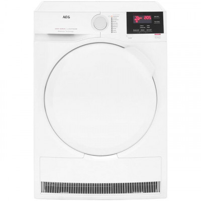 Save £70 at AO on AEG ProSense Technology T6DBG720N 7Kg Condenser Tumble Dryer - White - B Rated