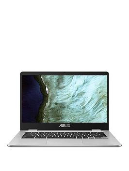 Save £51 at Very on Asus Chromebook C423Na-Bv0158 - 14In Hd, Intel Celeron, 4Gb Ram, 64Gb Storage, Optional Microsoft 365 Family - Silver - Laptop Only