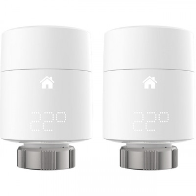 Save £16 at AO on tado Smart Radiator Thermostat Vertical Duo Pack
