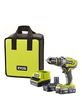 Save £31 at Very on Ryobi R18Pd31-213S 18V One+ Cordless Compact Combi Drill Starter Kit (2 X 1.3Ah)