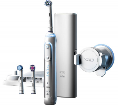 Save £34 at Currys on ORAL B Genius Pro 8000 Electric Toothbrush, White