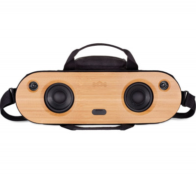 Save £50 at Currys on HOUSE OF MARLEY Bag of Riddim 2 Portable Bluetooth Wireless Speaker - Black, Black