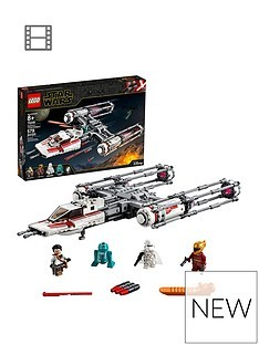 Save £7 at Very on LEGO Star Wars 75249 Resistance Y-Wing Starfighter Battle Starship