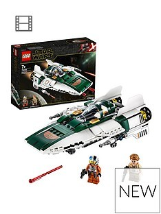 Save £3 at Very on LEGO Star Wars 75248 Resistance A-Wing Starfighter Battle Starship