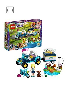Save £2 at Very on LEGO Friends 41364 Stephanie's Buggy & Trailer