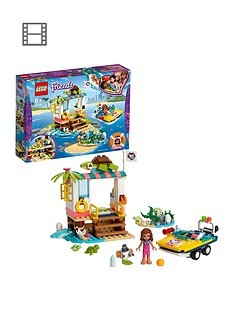 Save £5 at Very on LEGO Friends 41376 Turtles Rescue Mission Set