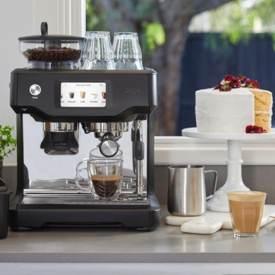 Save £200 at AO on Sage The Barista Touch SES880BTR Bean to Cup Coffee Machine - Black Truffle