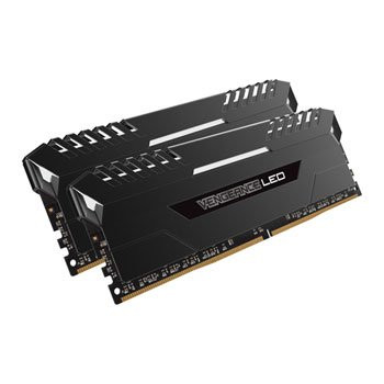 Save £26 at Scan on Corsair Vengeance White LED 16GB DDR4 3000 Memory Kit 2x 8GB