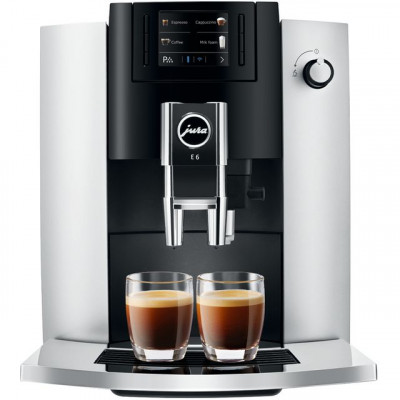 Save £86 at AO on Jura E6 15342 Bean to Cup Coffee Machine - Platinum