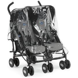 Save £31 at Argos on Chicco Echo Double Pushchair - Black Grey