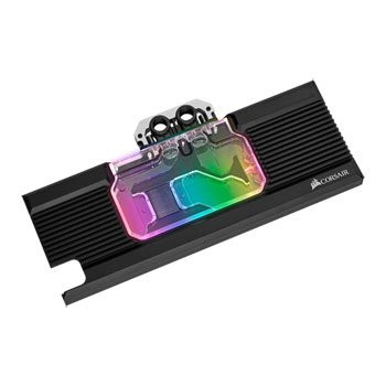 Save £51 at Scan on Corsair Hydro X XG7 RGB Rev.B GeForce RTX 2080 Graphics Card Water Blo