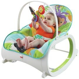 Save £20 at Argos on Fisher Price Infant To Toddler Rocker - Rainforest