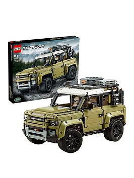 Save £33 at Very on Lego Technic 42110 Land Rover Defender 4X4 Car Model