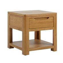 Save £33 at Argos on Heart of House Weymouth 1 Drawer Oak Veneer Lamp Table