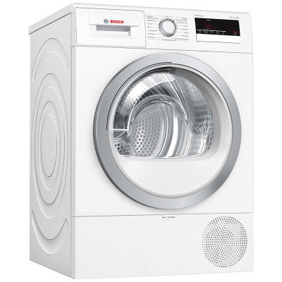 Save £50 at Appliance City on Bosch WTR85V21GB 8kg Serie 4 Heat Pump Condenser Tumble Dryer - WHITE