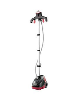 Save £18 at Very on Tefal Master Precision 360 Upright Garment/Clothes Steamer - Red And Black