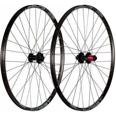 Save £107 at Chain Reaction Cycles on Stans No Tubes Crest S1 Mountain Bike Wheelset - Black - Grey - 12 x 142mm, Black - Grey
