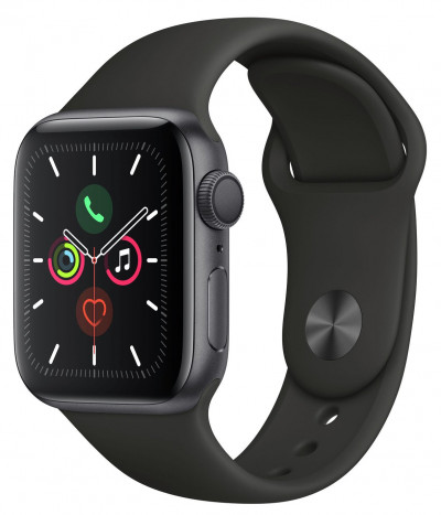 Save £70 at Argos on Apple Watch S5 GPS 40mm Space Grey Alu / Black Band