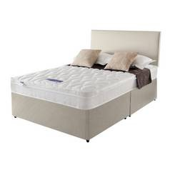 Save £100 at Argos on Silentnight Auckland Natural Divan Bed - Double