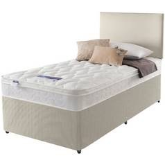 Save £70 at Argos on Silentnight Auckland Natural Divan Bed - Single