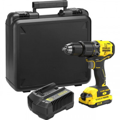 Save £30 at AO on Stanley Fatmax SFMCD715D1K-GB 18 Volts Cordless Combi Drill