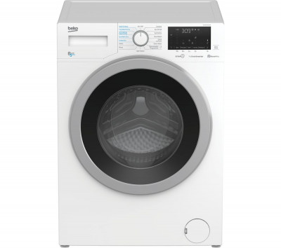 Save £70 at Currys on BEKO WDEX8540430W Bluetooth 8 kg Washer Dryer - White, White