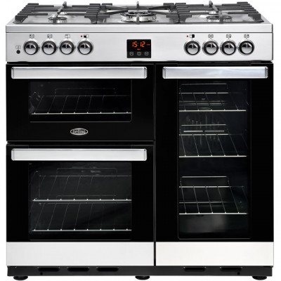Save £120 at AO on Belling Cookcentre90G 90cm Gas Range Cooker with Electric Fan Oven - Stainless Steel - B/A Rated