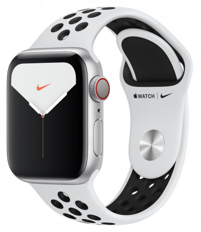 Save £100 at Argos on Apple Watch S5 Cellular 40mm Silver Alu/Black Band