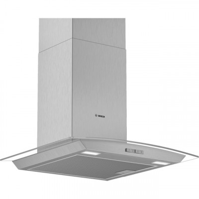 Save £51 at AO on Bosch Serie 2 DWA64BC50B 60 cm Chimney Cooker Hood - Stainless Steel - D Rated