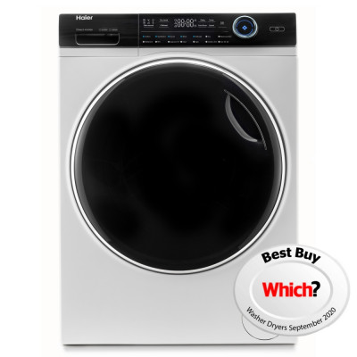 Save £121 at Appliance City on Haier HWD80-B14979 8kg/5kg I-Pro Series 7 Washer Dryer - WHITE