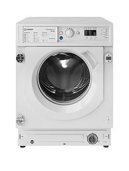 Save £50 at Very on Indesit Biwdil861284 Built-In 8Kg Wash, 6Kg Dry, 1200 Spin Washer Dryer - White - Washer Dryer Only