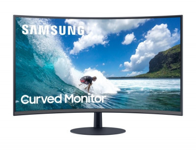 Save £25 at Ebuyer on Samsung LC24T550FDUXEN 24 Full HD Curved Monitor