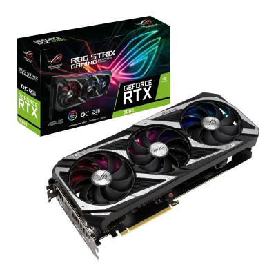 Save £71 at Ebuyer on ASUS GeForce RTX 3060 12GB ROG STRIX OC Ampere Graphics Card