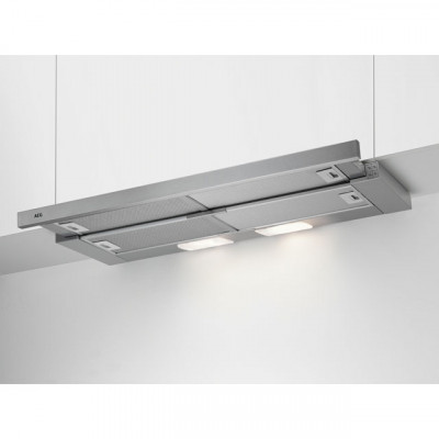 Save £27 at AO on AEG DPB3931S 90 cm Telescopic Cooker Hood - Stainless Steel - C Rated